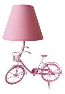 Abajur Urban Bike - Rosa