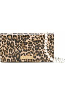 Casadei Bolsa Transversal Jungle Love - Marrom