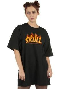 Camiseta Flame Feminina - Feminino