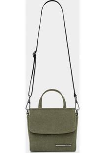 Bolsa Pequena Lona Verde Hunter - Lez A Lez