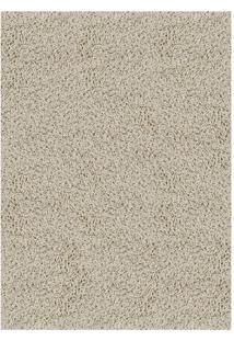 Tapete Tufting Clemant- Bege Claro- 5X300X200Cm-Tapete Sã£O Carlos