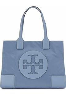 Tory Burch Bolsa Tote Com Logo - Azul