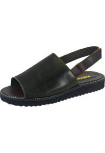 Rasteira S2 Shoes Ivone Verde Musgo