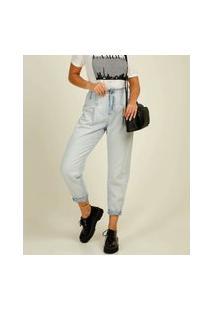 Calça Mom Jeans Feminina Cintura Alta Marisa