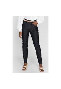 Calça Jeans Forum Reta Marisa Azul-Marinho