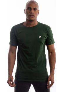 Camiseta Manga Curta Valks Musgo Verde