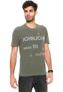 Camiseta John John Stars Verde