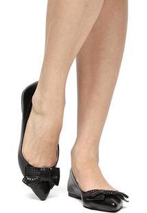 Sapatilha Shoestock Laço Laser - Feminino