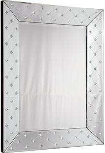Espelho Decorativo Veneziano Quadrado Schio