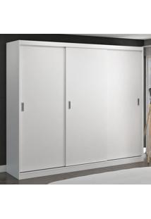 Guarda-Roupa Casal 3 Portas De Correr 100% Mdf 1905 Branco - Foscarini