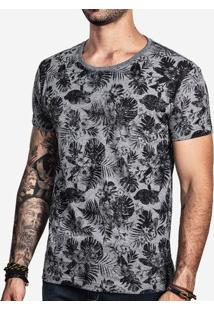 Camiseta Eco Preto Full Print 100374