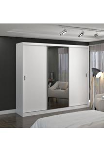 Guarda Roupa Casal Foscarini 774E1 3 Portas Com 1 Espelho 100% Mdf