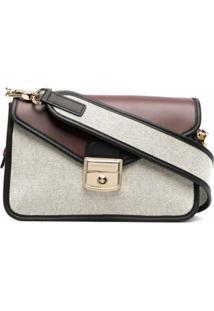 Longchamp Bolsa Transversal Mademoiselle Pequena - Neutro