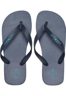 Chinelo Polo Wear Liso Azul-Marinho