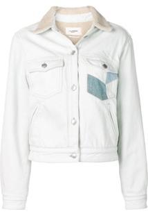 Isabel Marant Étoile Lindy Patchwork Jacket - Azul