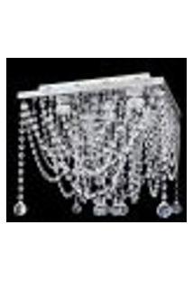 Lustre De Cristal Plafon Esfera 38X38X35Cm - Jp/Hama/38