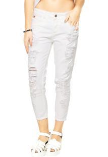 7426c2a4a Calça Branca Colcci feminina