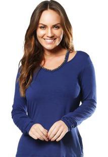 Blusa Azul Gris