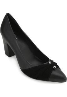 Sapato Sense Af18-183810 - Feminino-Preto