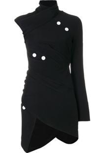 Proenza Schouler Blusa Assimétrica - Preto