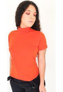 T-Shirt Feminina Carmen Coral