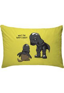 Fronha Para Travesseiros Nerderia E Lojaria Vader Dog Colorido