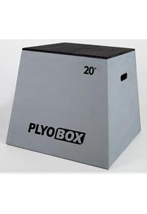 Banco Para Salto Pliométrico Plyo Box - 20? (50,80Cm) - Unissex