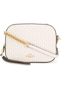 Coach Camera Quilted Bag - Branco