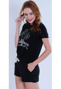 Camiseta Feminina Koamo California