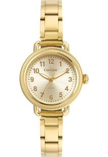 Kit Relógio Feminino Condor Co2035Mujk4D Analógico 3Atm + Conjunto Semijóia