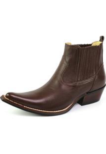Bota Top Franca Shoes Country Marrom