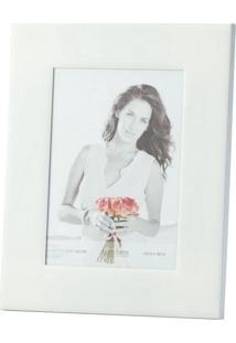 Porta-Retrato Branco Esmaltado 13X18 3100 Lyor Classic