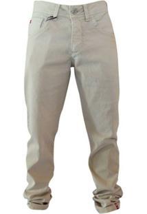 Calça Jeans Oceano - Masculino-Off White