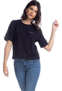 Camiseta Levis Graphic Parker - 00680 Preto - Preto - Feminino - Dafiti