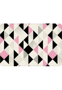 Tapete Love Decor De Sala Wevans Multi Triângulos Rosa - Tricae