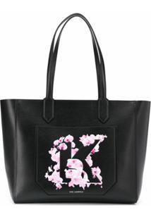 Karl Lagerfeld Bolsa Tote K/Orchid - Preto
