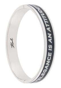 Karl Lagerfeld Bracelete Karlism - Prateado