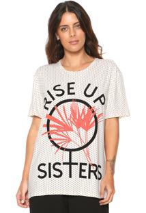 Camiseta Morena Rosa Poás Off-White