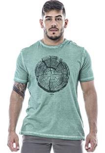 Camiseta Masculina Individual Verde
