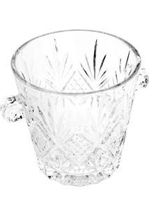 Balde Para Gelo Dublin- Cristal- 16,5Xø22,5Cm- Llyor