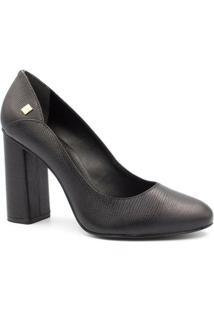 Sapato Loucos E Santos Scarpin Salto Alto - Feminino-Preto