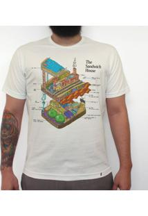The Sandwich House - Camiseta Clássica Masculina