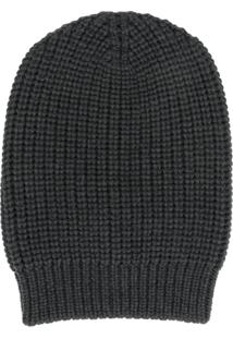 Ma'Ry'Ya Ribbed Knit Hat - Cinza