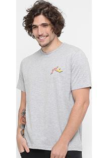 Camiseta Rusty Silk Smax Short Masculina - Masculino