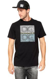 Camiseta Dc Shoes Double Threat Preta