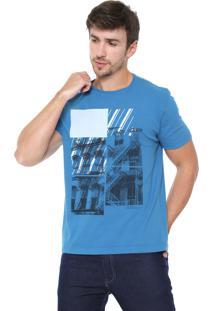 Camiseta Aramis City Azul