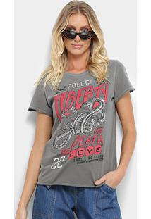 Camiseta Colcci Snake Liberty Feminina - Feminino