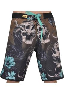 Bermuda Mcd Scream Skull - Masculino