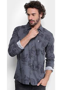 Camisa Mcd Toile Bizarre Masculina - Masculino