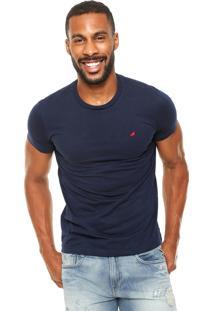 Camiseta Enfim Mini Azul-Marinho